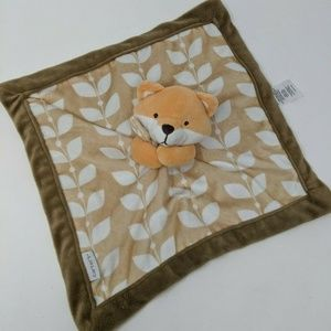 Carter's Lovey Baby Cuddle Blanket Fox